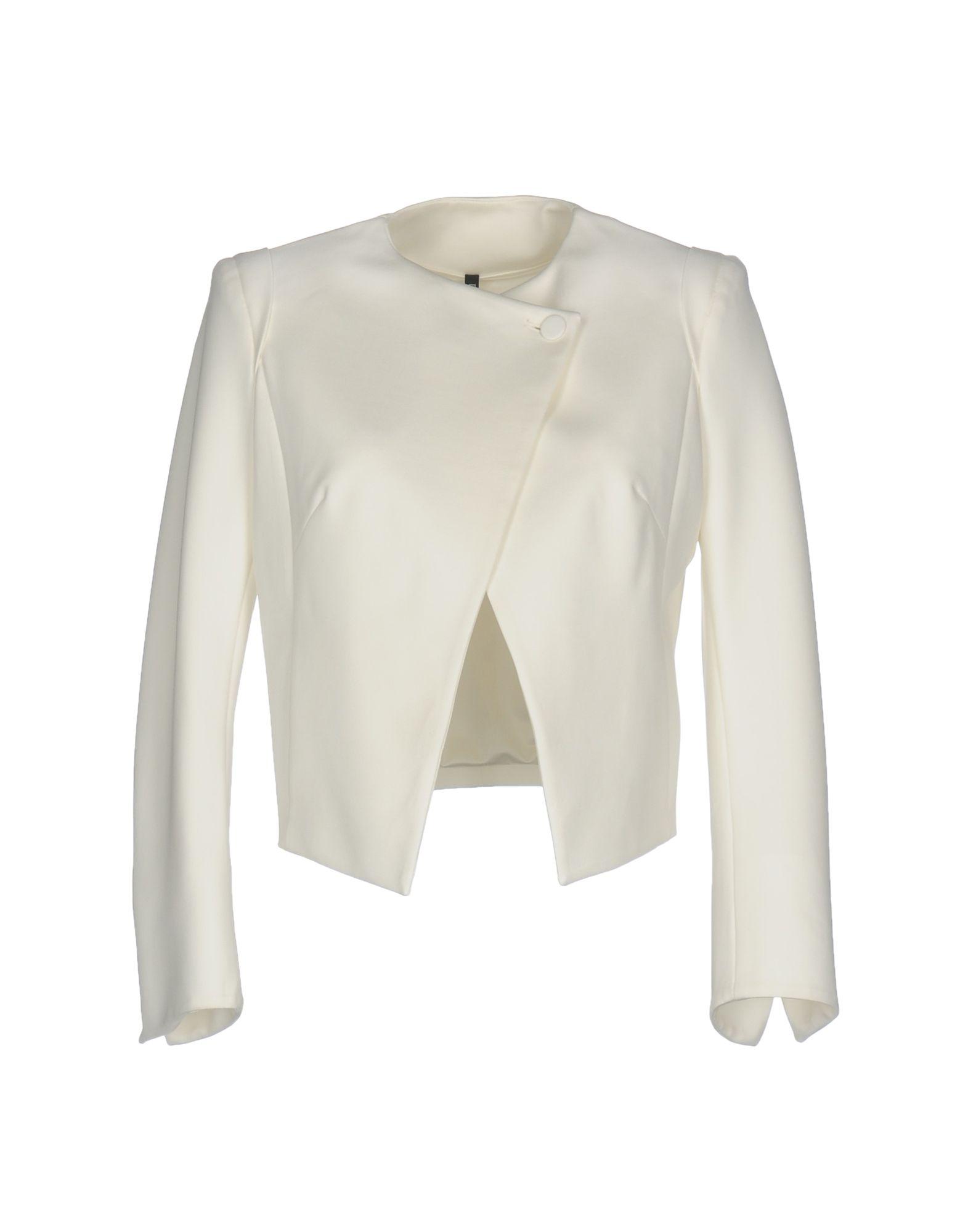 PLEIN SUD JEANIUS Blazer in White