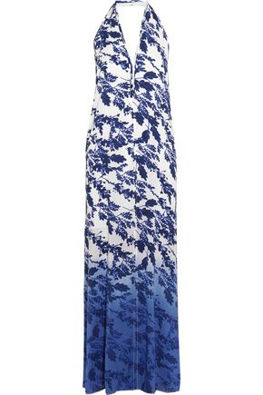 VIX Marlin Ella printed crepe dress