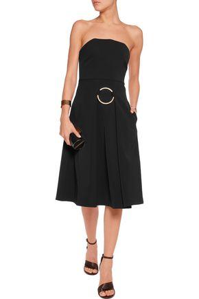 STELLA McCARTNEY Embellished wool-twill dress