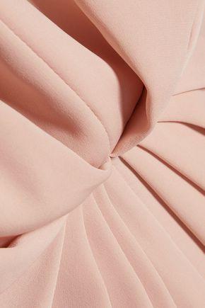 ZIMMERMANN Ray silk-paneled pleated jersey dress