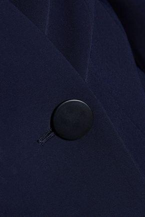 ANTONIO BERARDI Draped crepe jacket