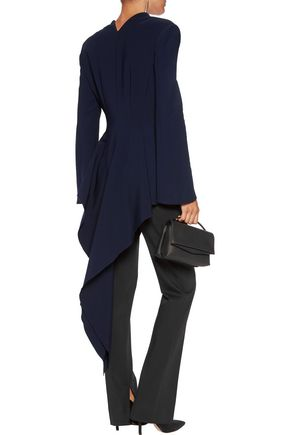 ANTONIO BERARDI Draped crepe jacket