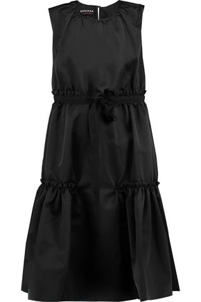 ROCHAS Bow-embellished satin dress