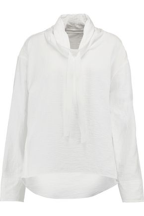 DKNY Cotton-blend cloqué jacket
