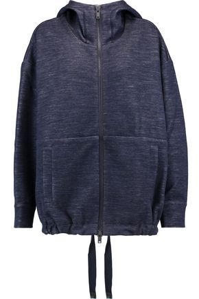 DKNY Jersey hooded jacket