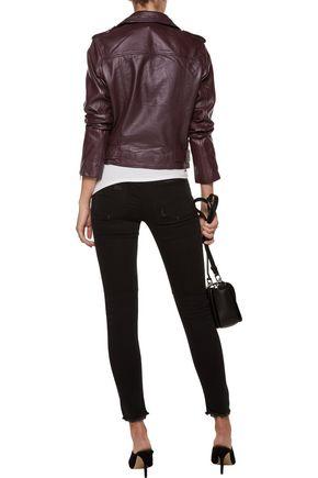 W118 by WALTER BAKER Allison leather biker jacket