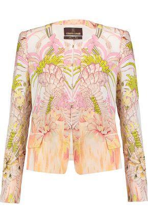 ROBERTO CAVALLI Printed silk jacket