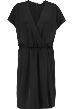 BY MALENE BIRGER Wrap-effect crepe dress