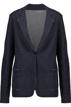 MAJESTIC Cotton and cashmere-blend blazer