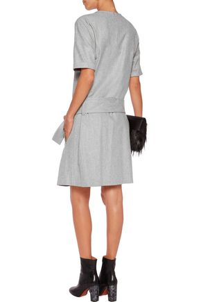 BRUNELLO CUCINELLI Belted wool dress