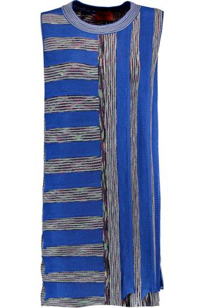 MISSONI Pleated stretch-knit dress