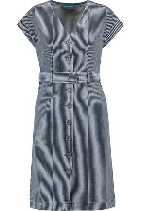 M.I.H JEANS Tucson striped denim dress