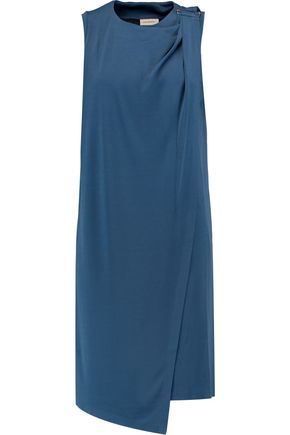 BY MALENE BIRGER Junni draped stretch-crepe dress