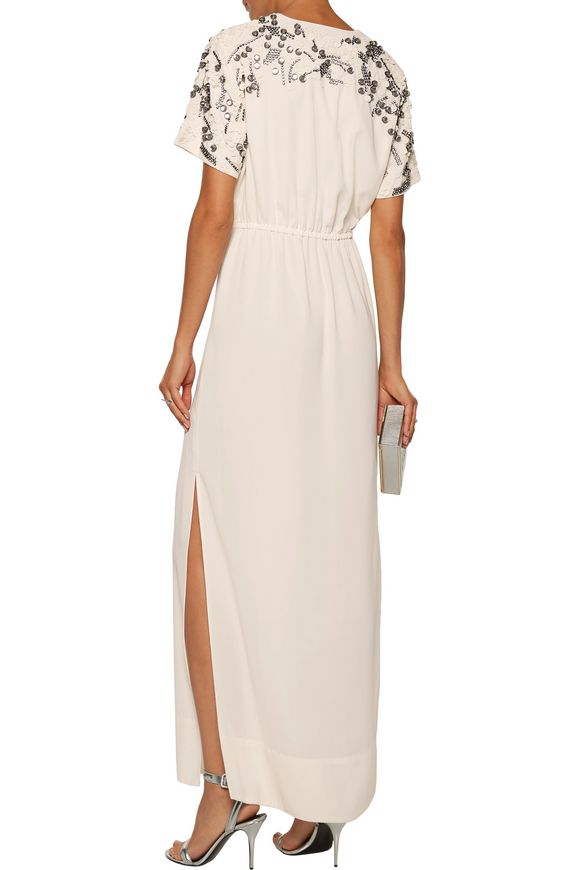 Eviny embellished crepe gown | BY MALENE BIRGER | Sale up to 70% off | THE  OUTNET