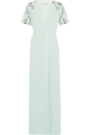 BY MALENE BIRGER Eviny embellished crepe gown