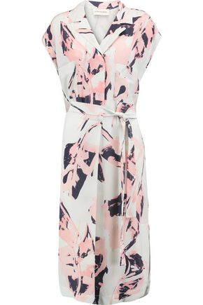 BY MALENE BIRGER Printed silk midi dress