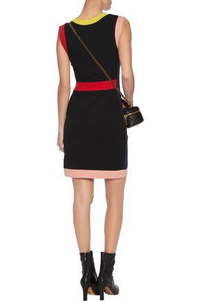 LOVE MOSCHINO Stretch cotton-blend mini dress