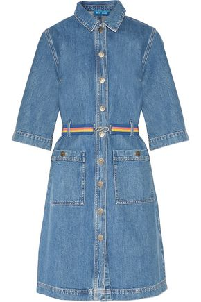 M.I.H JEANS Lola belted denim dress