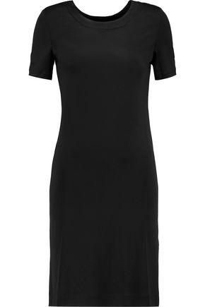 LOVE MOSCHINO Open-back satin-jersey dress