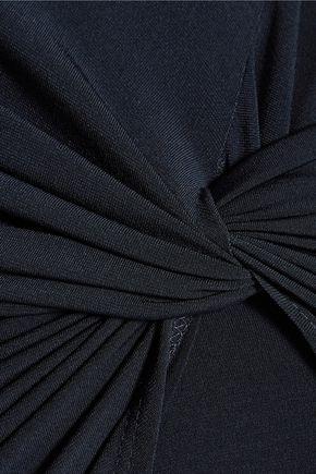 VELVET by GRAHAM & SPENCER Twisted jersey dress