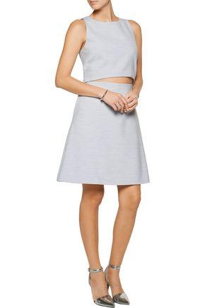 THAKOON ADDITION Cutout cady dress