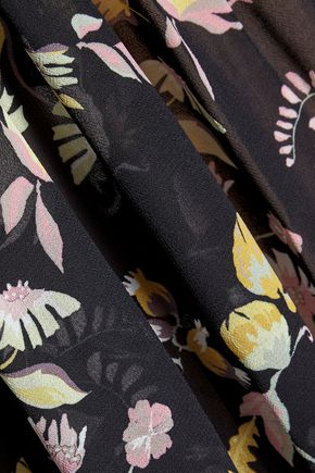 JILL STUART Nellie printed georgette midi dress