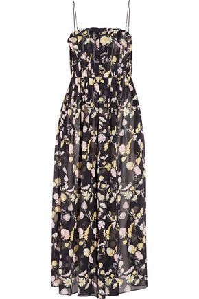 JILL STUART Nellie printed georgette midi dress