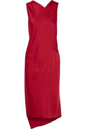 MAISON MARGIELA Asymmetric satin dress