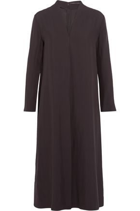 AGNONA Satin-crepe jumpsuit