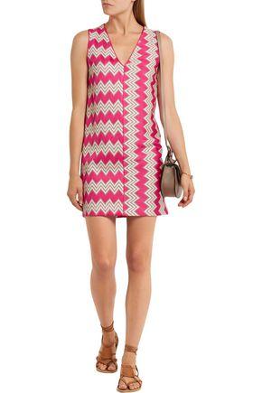 MISSONI Crochet-knit mini dress