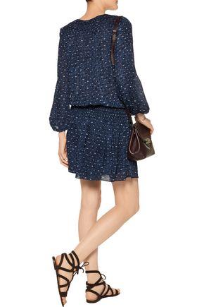 JOIE Bain printed silk mini dress