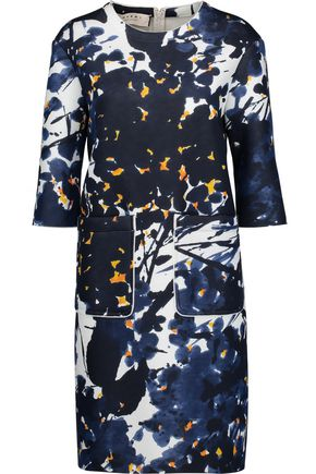 MARNI Printed neoprene dress