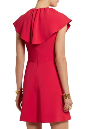 GIAMBATTISTA VALLI Ruffled cady mini dress