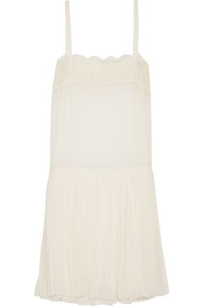 ISABEL MARANT ÉTOILE Almira embroidered georgette dress