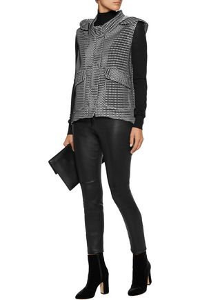 MILLY Mesh hooded vest