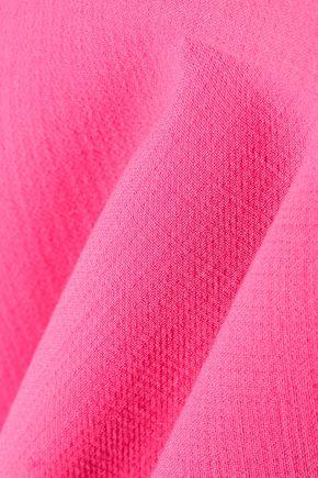 EMILIO PUCCI Fluted stretch-wool mini dress