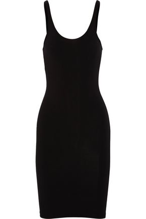 T by ALEXANDER WANG Modal-blend jersey tank dress