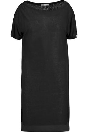 T by ALEXANDER WANG Slub stretch-jersey mini dress