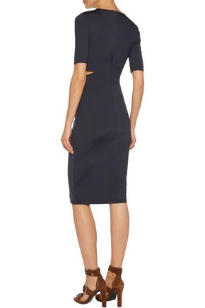 T by ALEXANDER WANG Cutout stretch-jersey dress