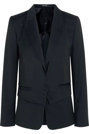 MAISON MARGIELA Convertible wool jacquard blazer