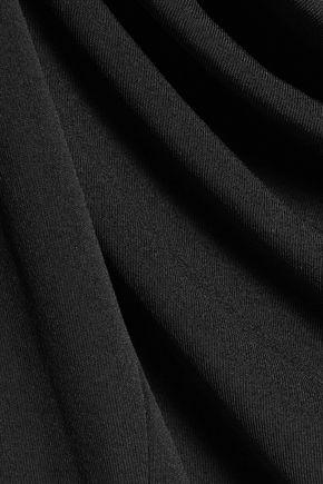 MAISON MARGIELA Layered draped stretch-jersey dress