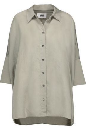 MM6 by MAISON MARGIELA Oversized poplin shirt