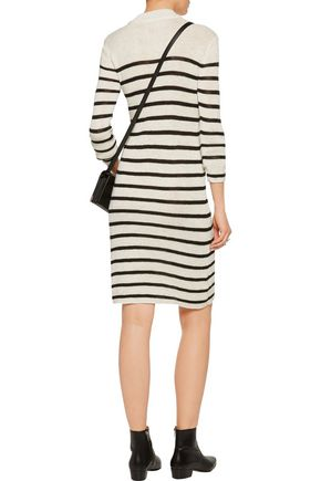 ISABEL MARANT ÉTOILE Earl intarsia-knit sweater dress