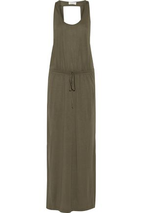 A.L.C. Rita cutout stretch-jersey maxi dress