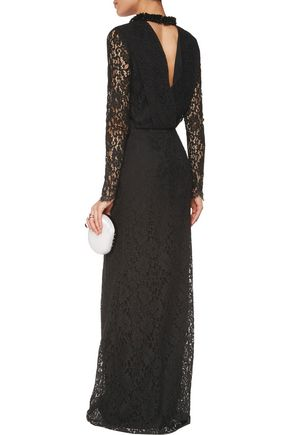 EMILIO PUCCI Sequin-embellished broderie anglaise cotton-blend gown