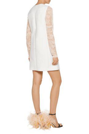 EMILIO PUCCI Cutout cotton-canvas mini dress