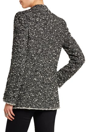 DOLCE & GABBANA Wool-blend bouclé blazer