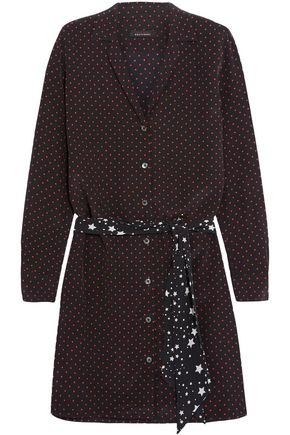 EQUIPMENT + Kate Moss Rosalind printed washed-silk mini dress