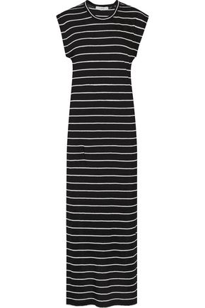 IRO Molly striped linen maxi dress