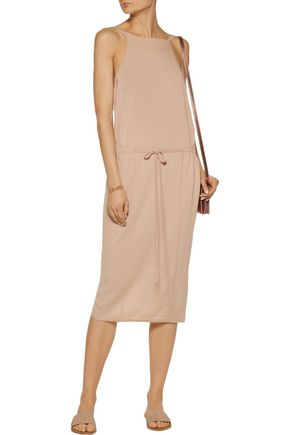 SOYER Olivia wrap-effect cashmere dress
